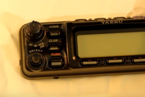 Yaesu FT-857D Select Knob Wobbles - How to replace