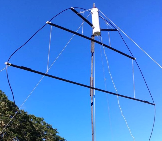 Portable NVIS Loop for 80m to 40m