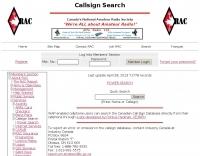 Canadian Amateur Radio Callsign Database