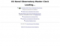 USNO Mater Clock Time