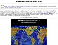 Near-Realtime MUF indicator