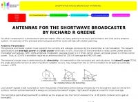 Antennas for SW Broadcasters