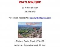 WA7LNW/QRP