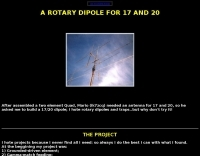Rotary trapped-dipole for HF