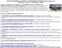 W1TP Telegraph & Scientific Instrument Museums