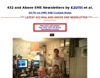 432 Mhz and above newsletters