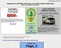 NJ Antique Radio Club HomePage