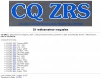 CQ ZRS magazine