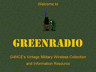 G4NCE's Vintage Military Wireless Collection