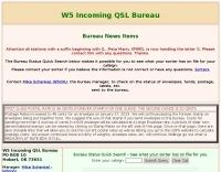 W5 Incoming QSL Bureau