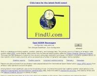 APRS Database Access - Findu.com