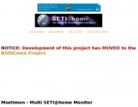 Multi-SETI@Home Monitor