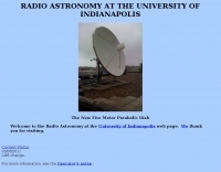 Radio Astronomy at the University of Indianapolis