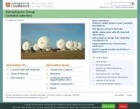 Cavendish Astrophysics Homepage