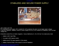 A secure power supply