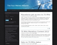 The Four Metres Web Site