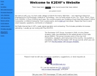 KB2VGH's VHF pages