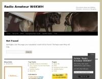 Radio Amateur W4KWH