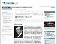 Nobel e-Museum: Guglielmo Marconi