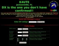 K4UTE QSL info lookup
