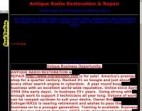 Antique Radio Restoration & Repair