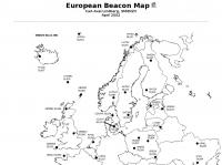 European Beacon Map