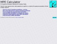 MPE Calculator