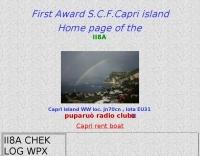 Capri island contest team