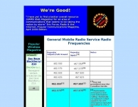 GMRS Frequencies