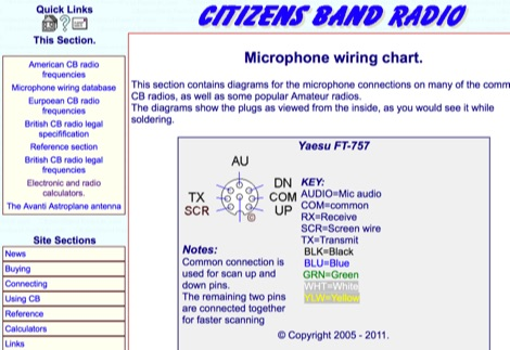thb 7409 5 mic wiring resources you need to bookmark astatic mic wiring diagram at mr168.co