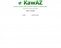 KawAZ Azimuth angle calculation