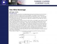 Two Wire Beverage