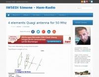 4 elements 50MHz Quagi