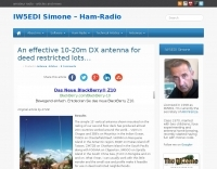 Antenna for deed restricted lots