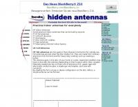 Practical indoor antennas