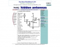Simple active antenna