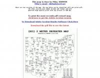 Ohio 2 M repeater Map