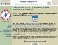 Colorado Dist. 16 ARES