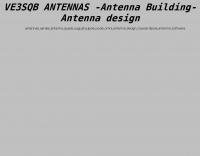 Ve3sqb Antenna Programs