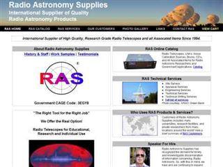 Radio Astronomy Supplies
