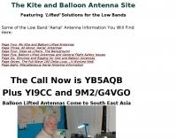 The Kite and Balloon Antenna Site