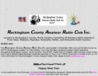 Rockingham County Amateur Radio Club