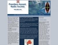 President Karami Radio Society