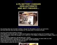 A Pb Battery Recharger