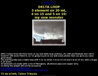 Some good ideas for a big Delta Loop antenna