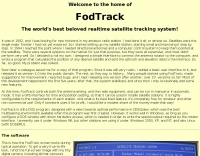 FODtrack Satellite Tracking Interface