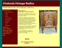 Antique Radio Repair Service