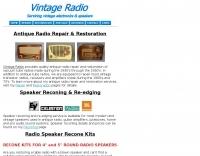 Antique Radio Repair and Speaker Reconing
