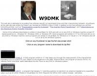 W9DMK  Software