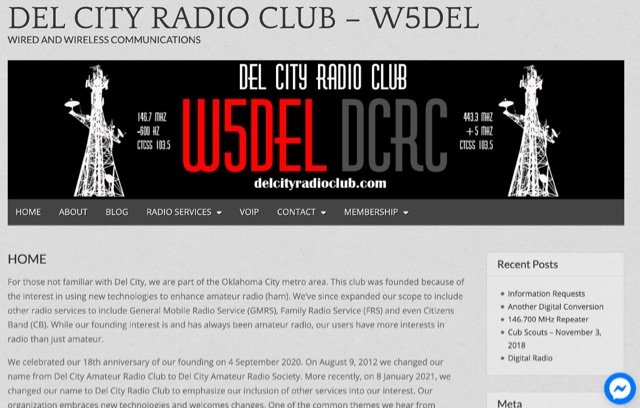 Del City Amateur Radio Club